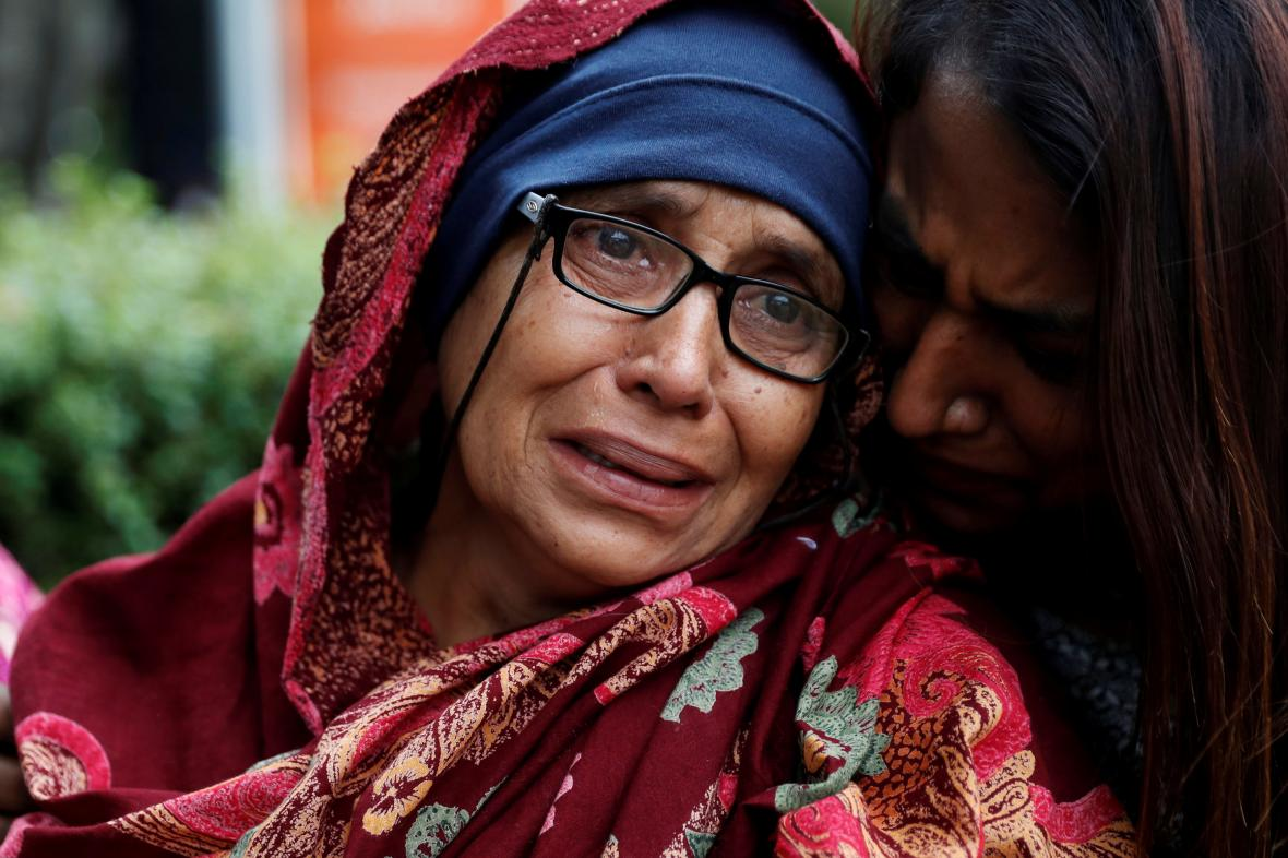 Aktařin manžel se stal zřejmě obětí útoku na mešity v Christchurch