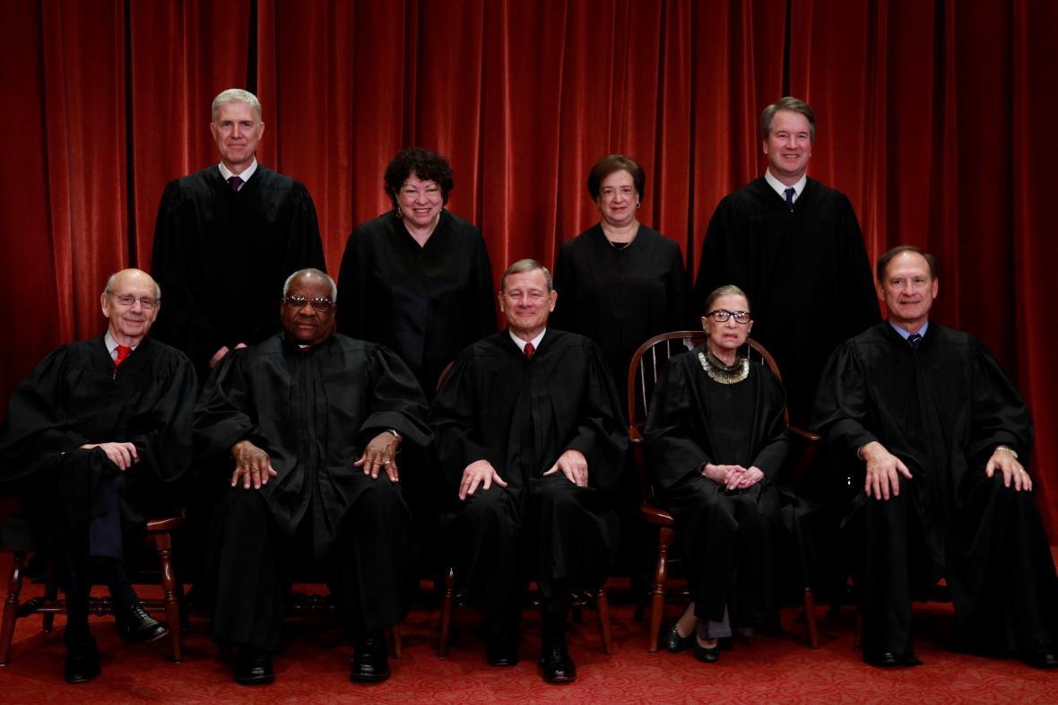 Soudci Nejvyššího soudu USA