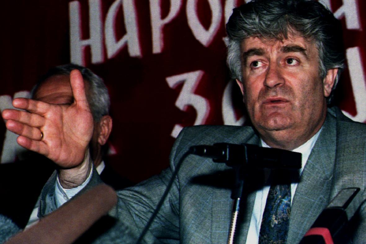Radovan Karadžič v roce 1993