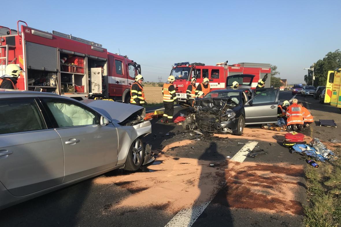 Nehoda v Rostoklatech