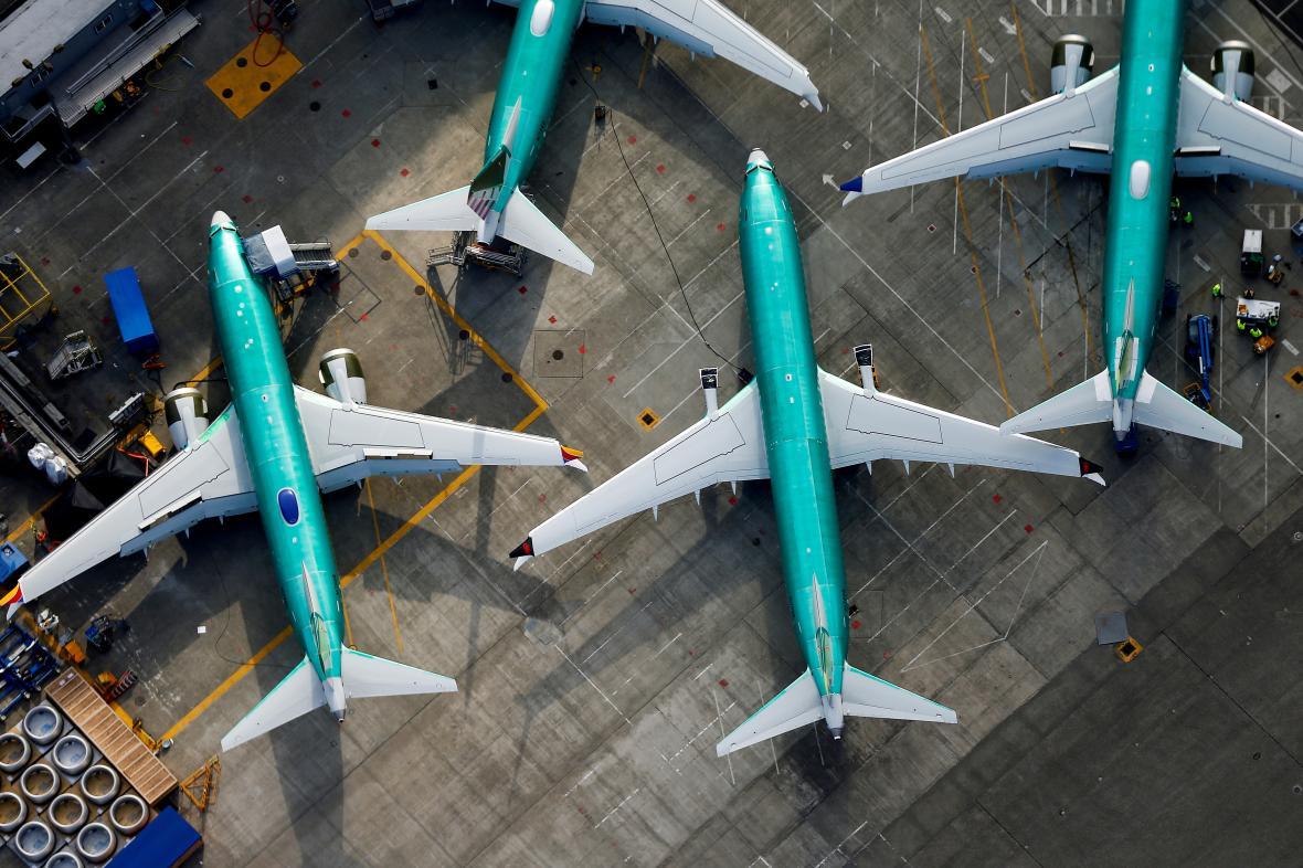 Boeingy 737 MAX po zákazu létání
