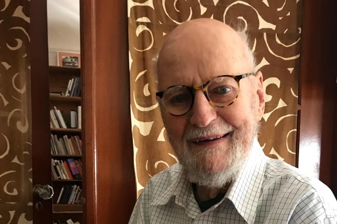 Lawrence Ferlinghetti, foto z roku 2018