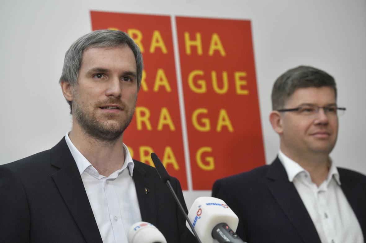 Zdeněk Hřib a Jiří Pospíšil