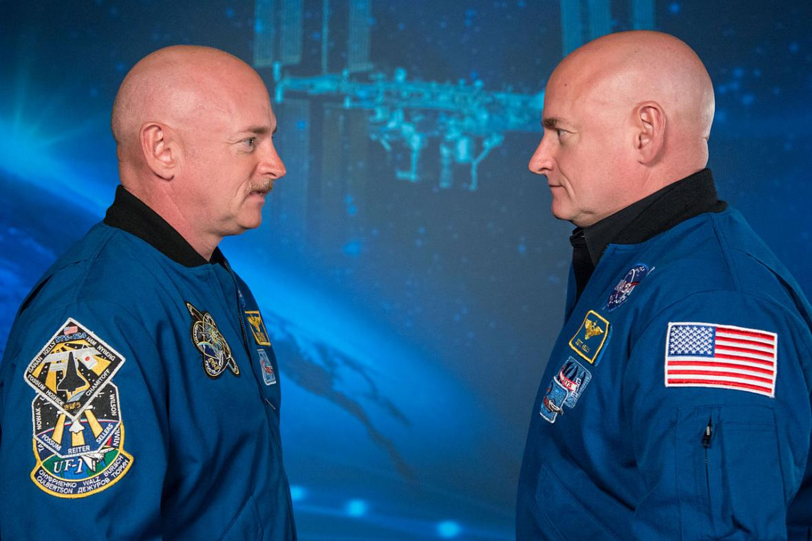 Scott Kelly a Mark Kelly