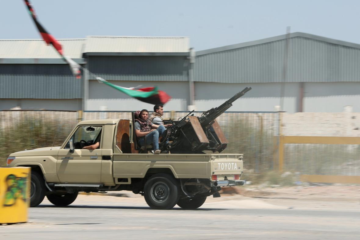Ozbrojené síly věrné mezinárodně uznávané vládě v Tripolisu