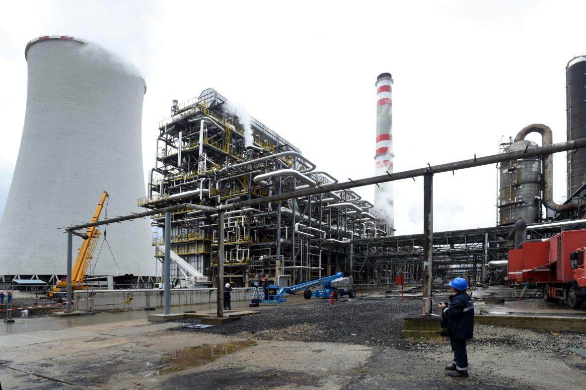 Areál Chempark společnosti Unipetrol v Záluží u Litvínova