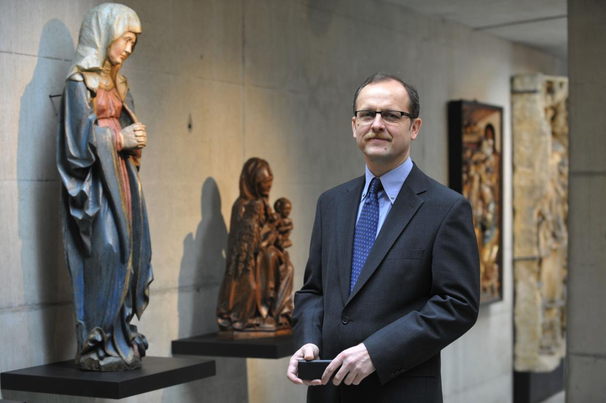 Odvolaný ředitel Muzea umění v Olomouci Michal Soukup