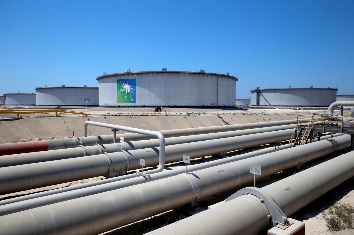 Ropovod společnosti Saudi Aramco
