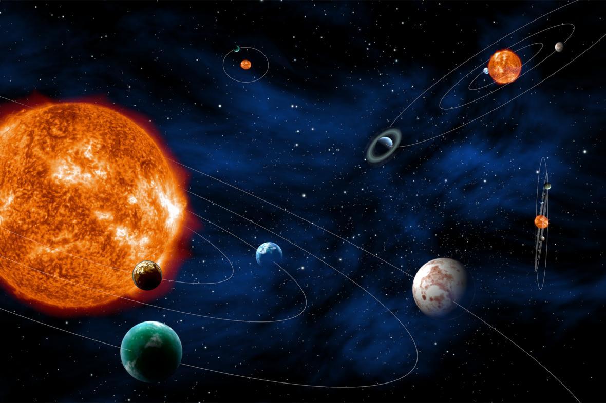 Exoplanety, ilustrační foto