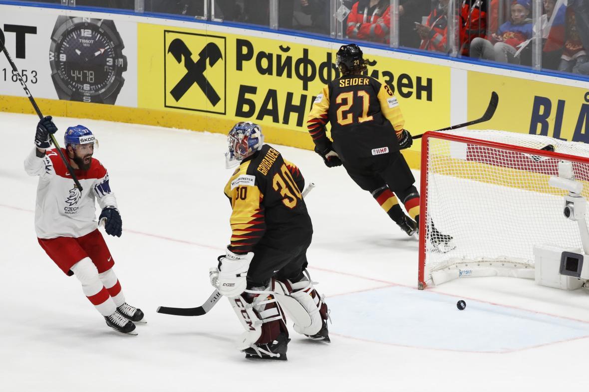 Čtvrtfinále Česko - Německo