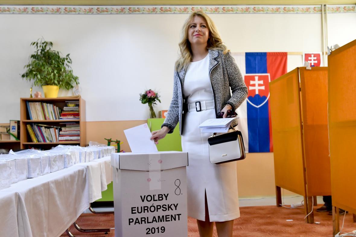 Bývalá místopředsedkyně PS a zvolená prezidentka Čaputová u voleb
