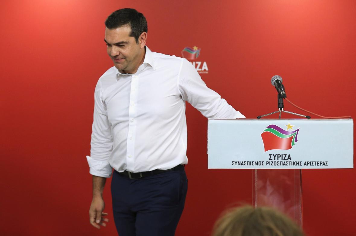 Alexis Tsipras chce předčasné volby
