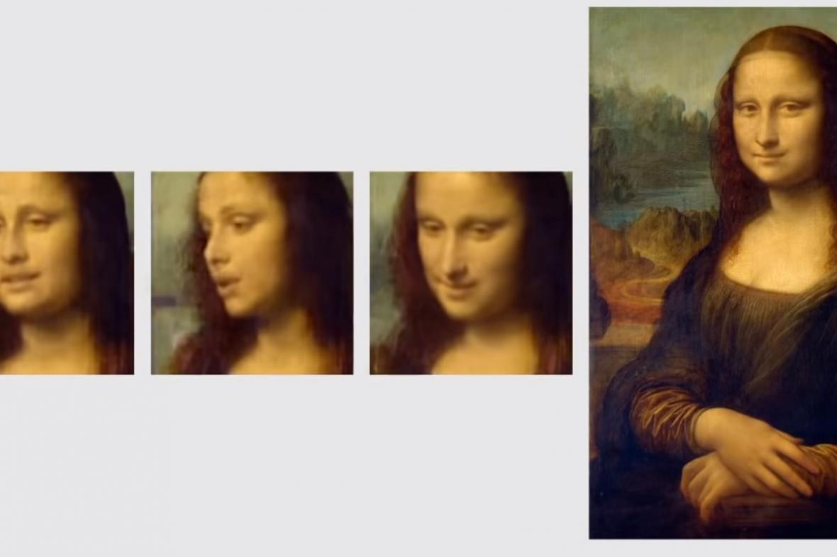 Rozpohybovaná Mona Lisa