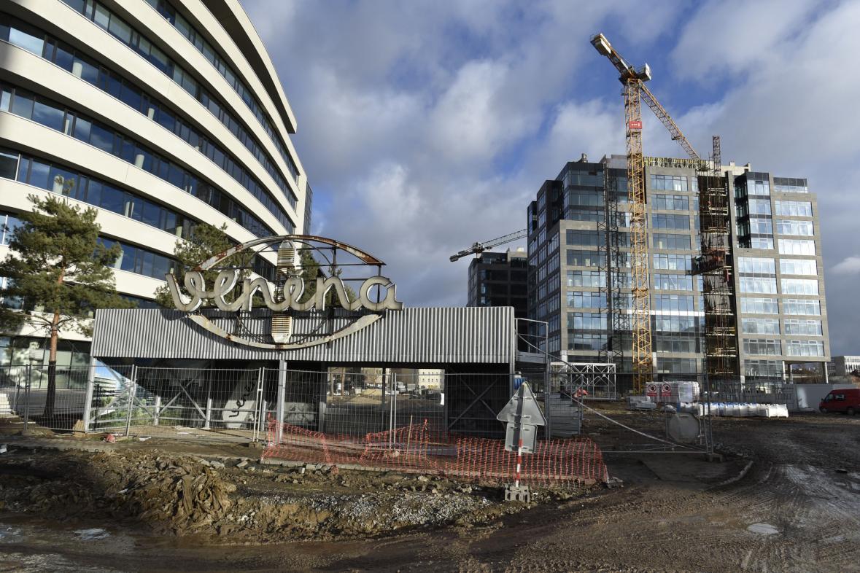 Nové budovy v bývalém areálu Vlněny