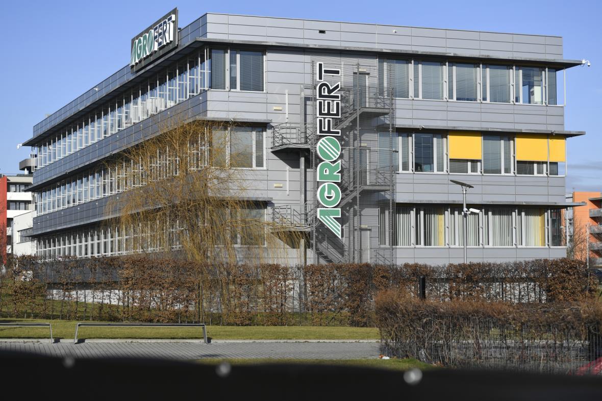 Sídlo Agrofertu v Praze