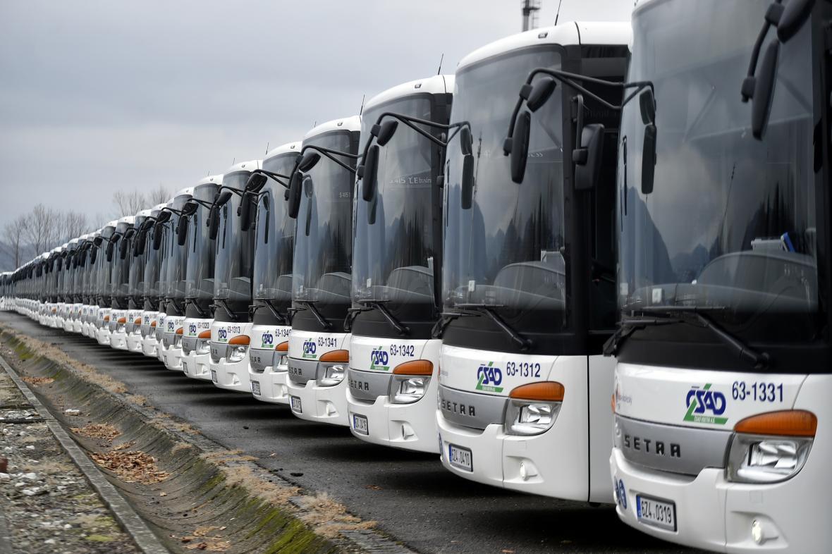 Autobusy společnosti ČSAD Vsetín pro Novojičínsko
