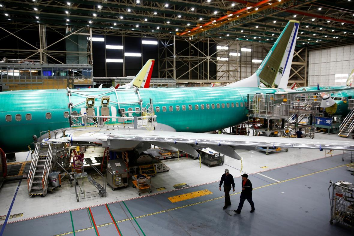 Továrna Boeingu v USA