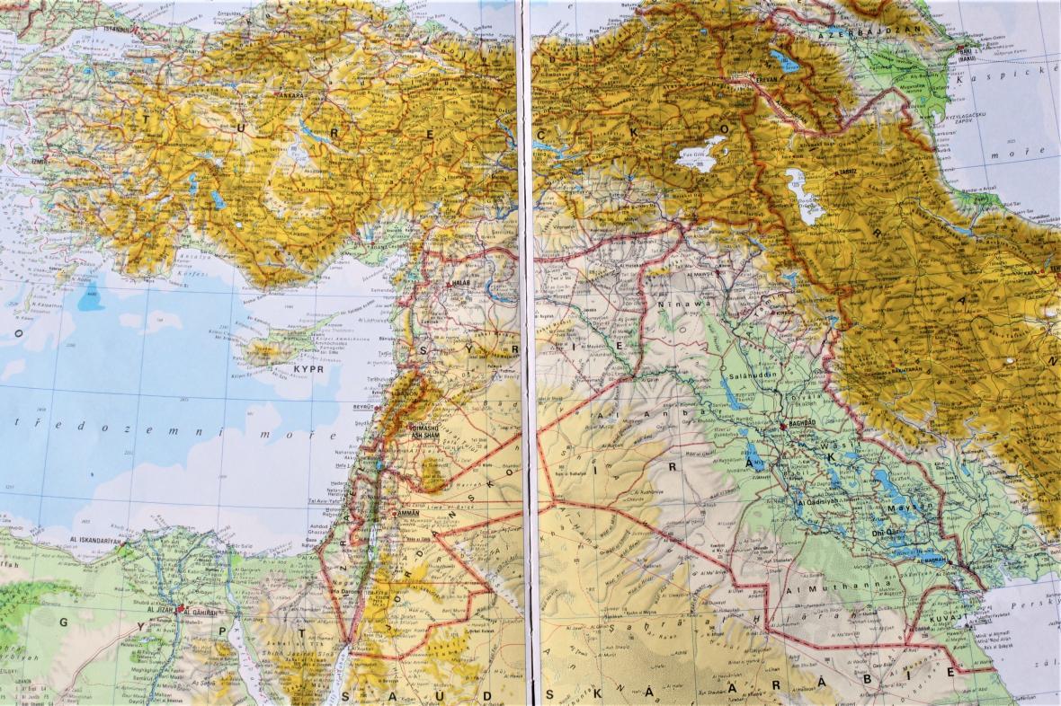 Mapy Ukazuji Priciny Neklidu Na Blizkem Vychode Prelidneni Sucho