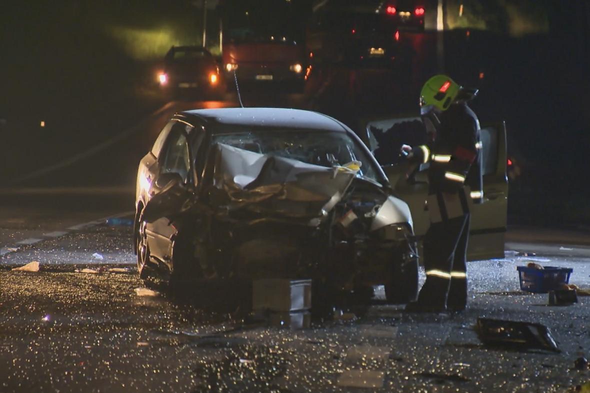 Hromadná nehoda u Milína