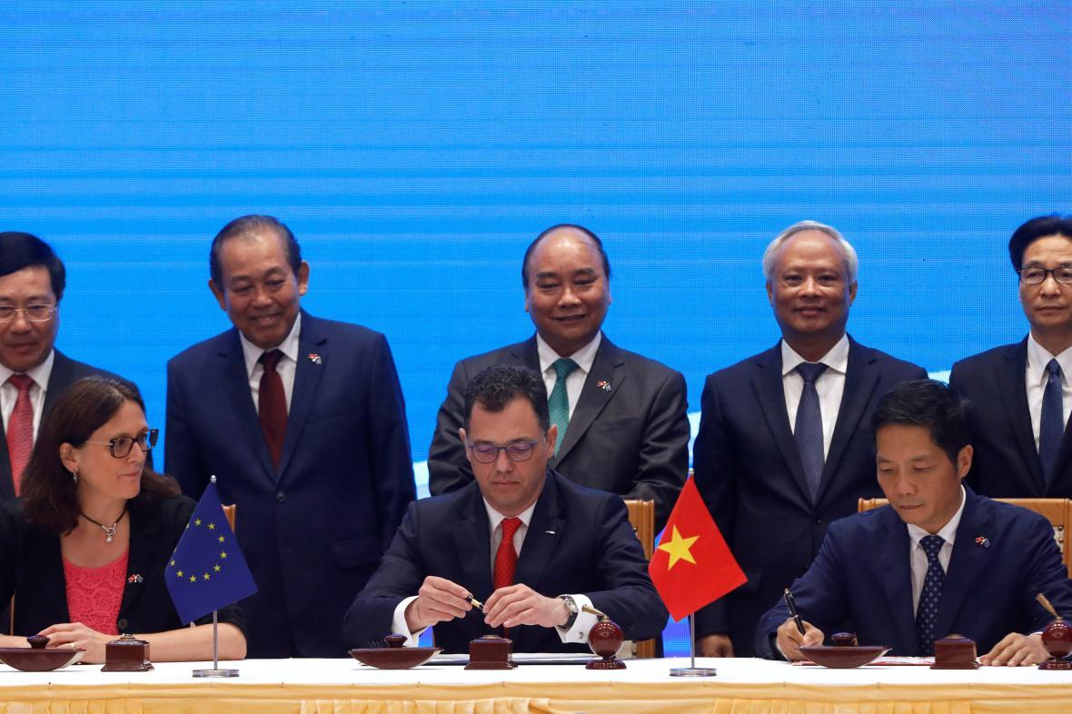 Podpis dohody mezi Evropskou unií a Vietnamem