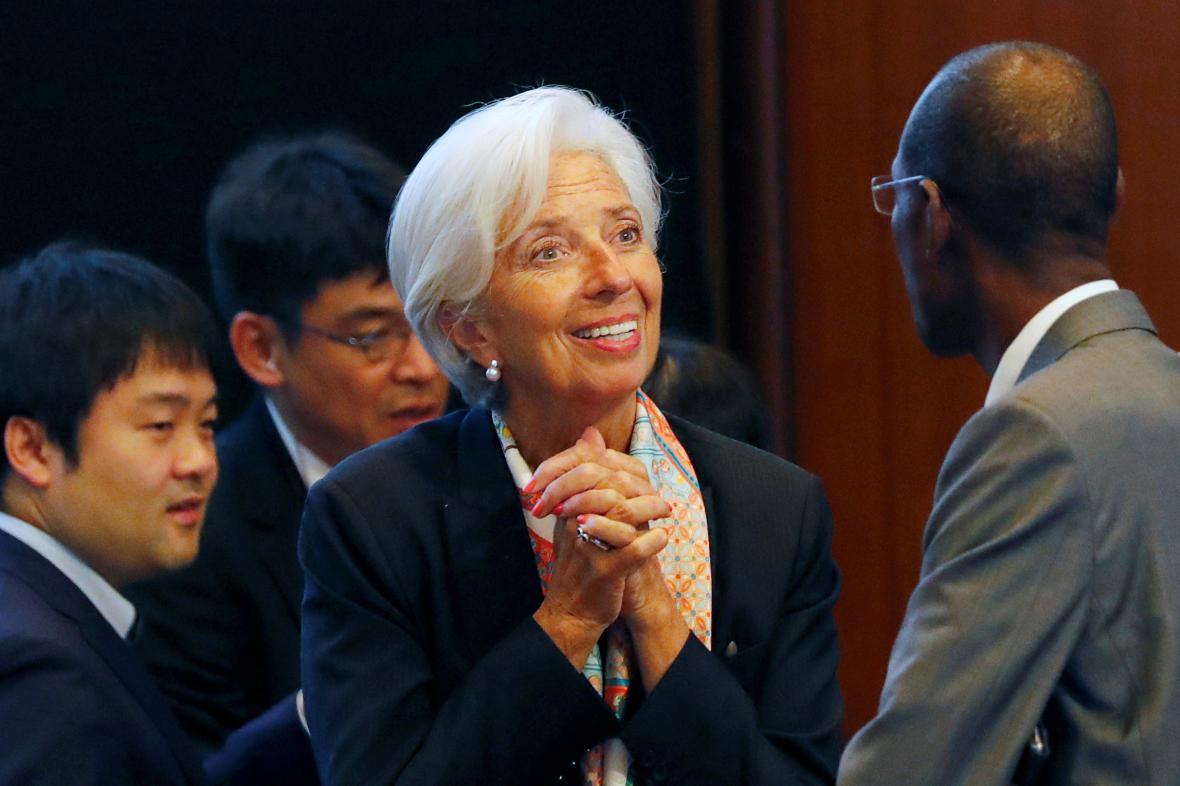 Christine Lagardeová počátkem června jednala s bankéři v Japonsku