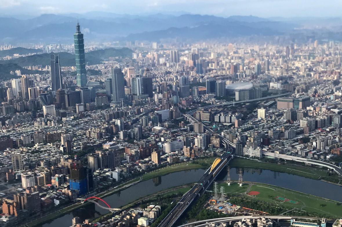 Hlavní město Tchajwanu Tchaj-pej