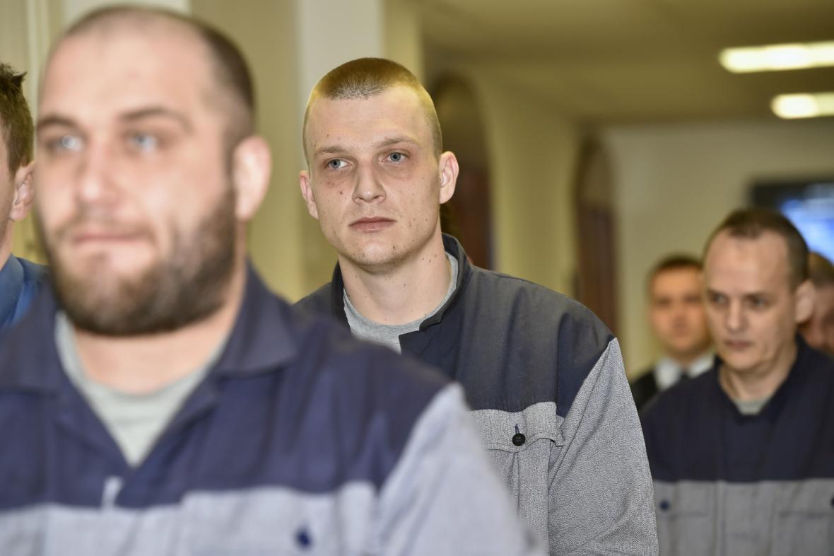 Obžalovaní Simon Baier, Michal Cvan a Jozef Minár