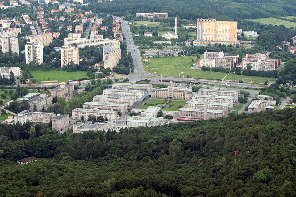 Areál nemocnice v Krči