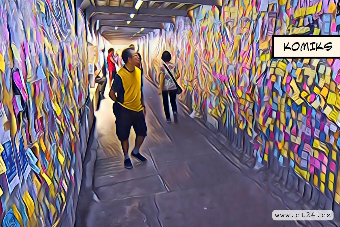 John Lennon Wall v Číně
