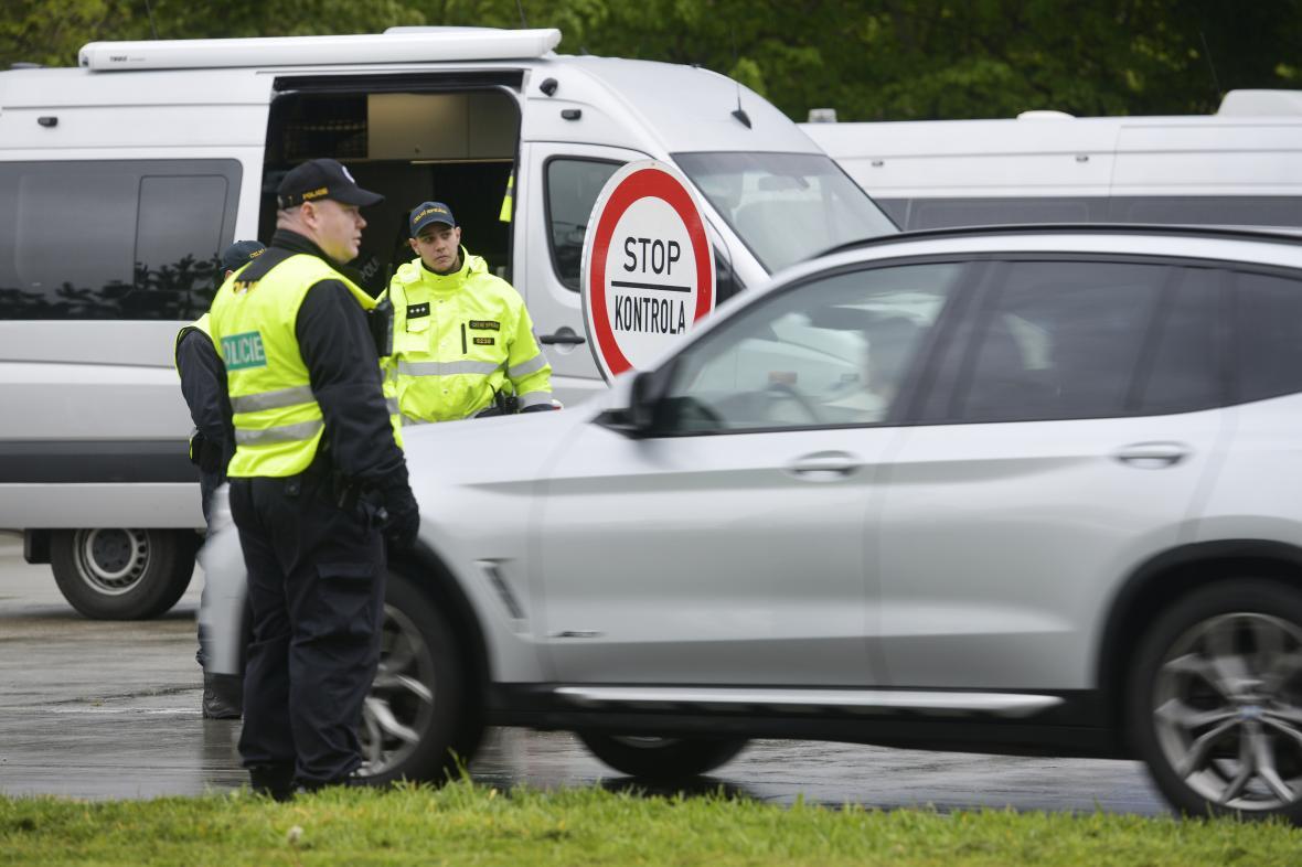 Policejní cvičení prověřující možnost dočasného znovuzavedení hraničních kontrol