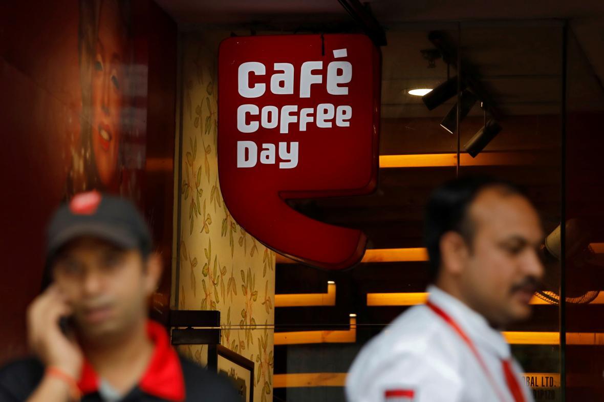 Cafe Coffee Day v indickém Novém Dillí