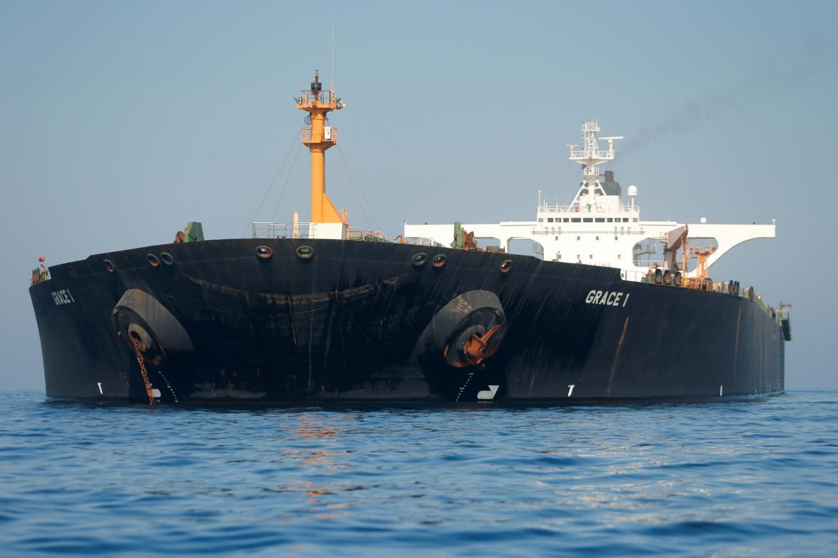 Íránský tanker Grace 1 čeká na odplutí z Gibraltaru