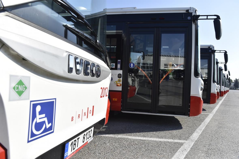 Autobusy MHD v Brně