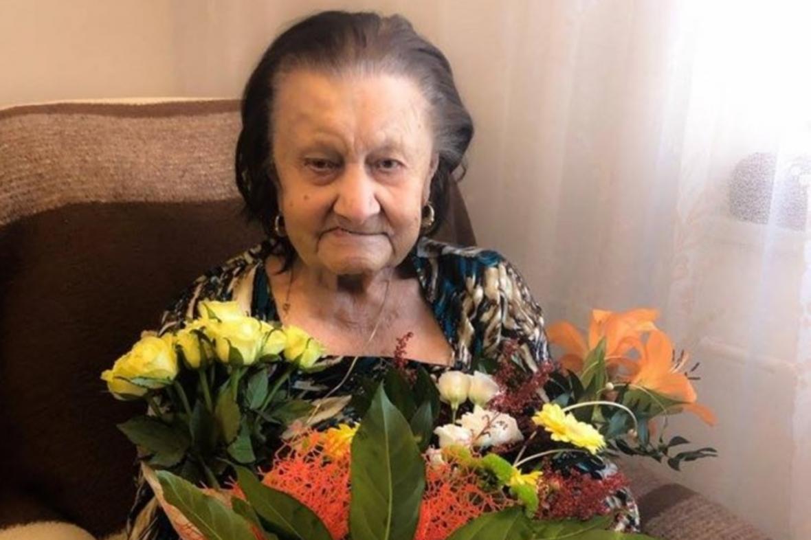 Marie Schwarzová v den 109 narozenin