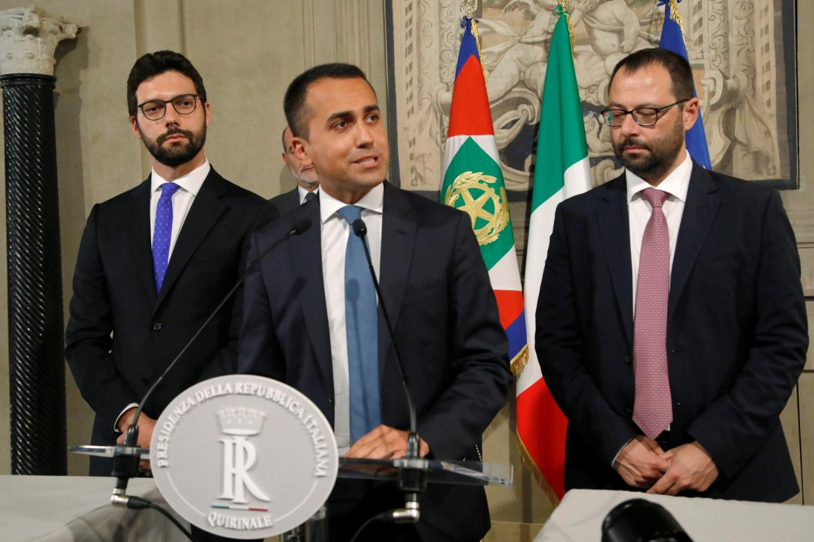 Luigi di Maio oznámil vznik nové vládní koalice