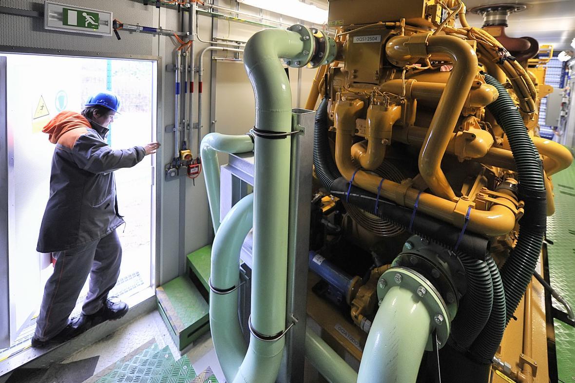 Záložní dieselový generátor  ilustrační snímek