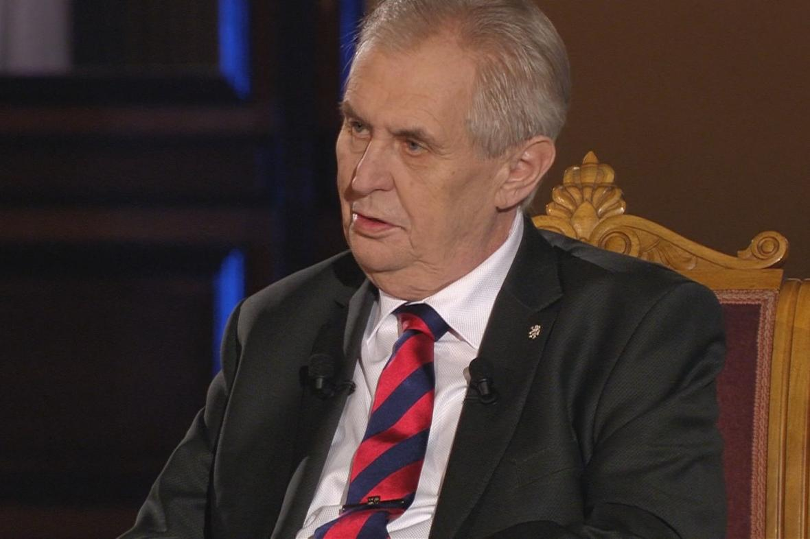 Milos Zeman vyrok