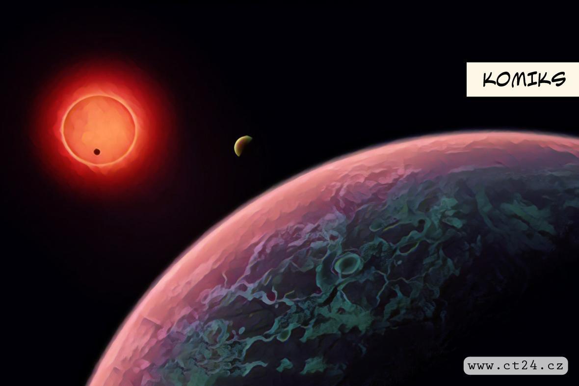 Voda na planetě podobné Zemi