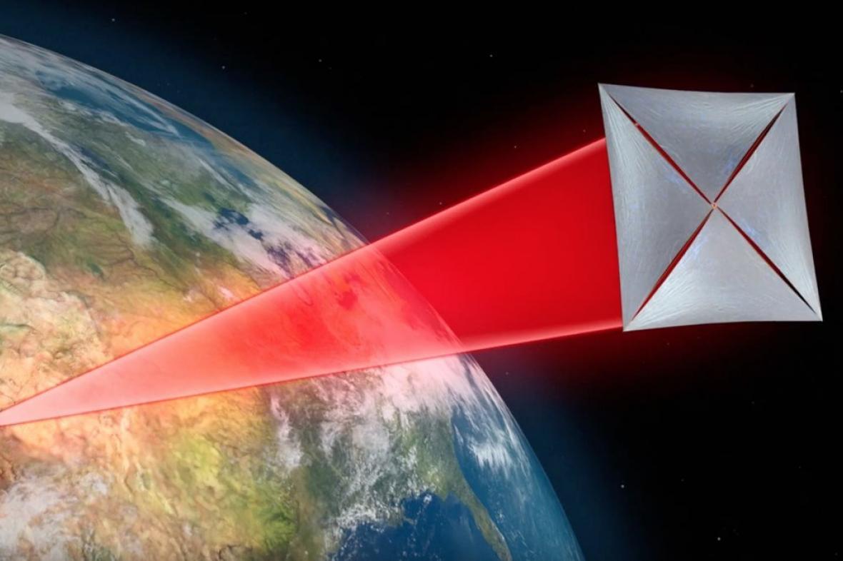Breakthrough Starshot - satelity poháněné laserem