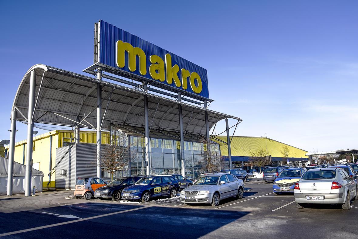 Velkoobchodní prodejna Makro v Ostravě