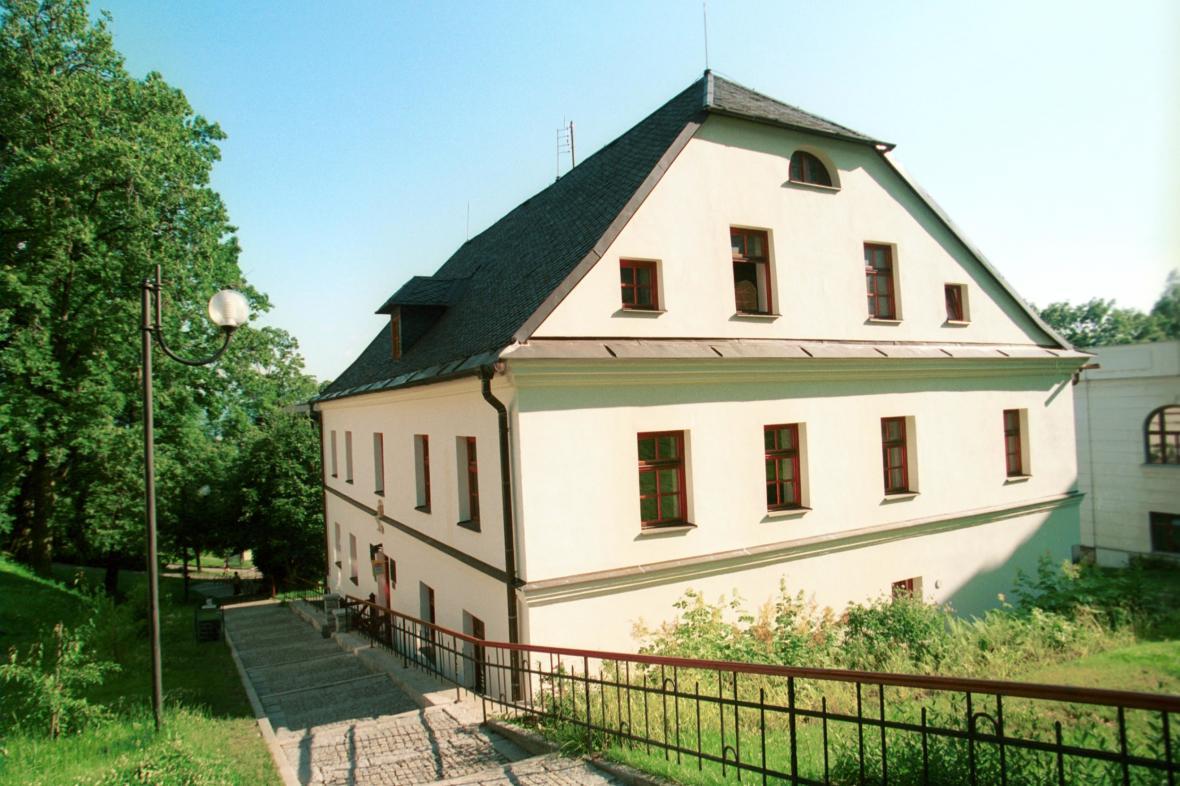 Priessnitzův dům v Jeseníku
