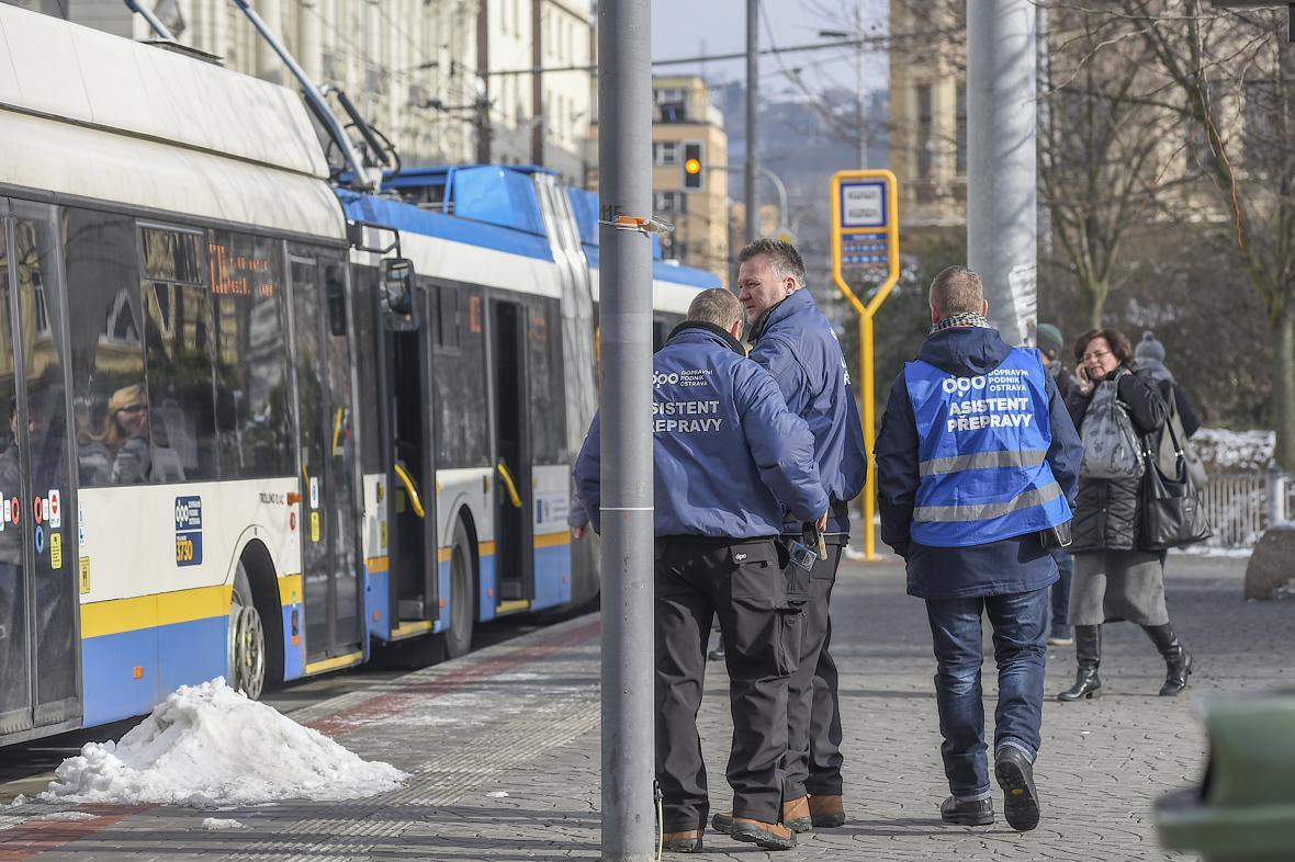 Asistenti přepravy v Ostravě