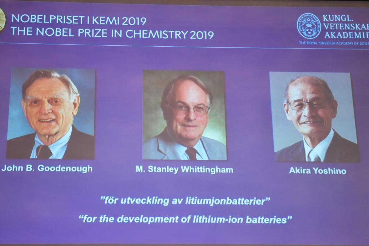 Nobelova cena za chemii