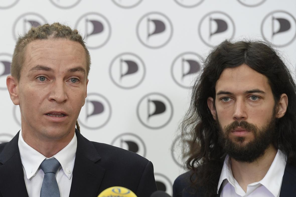 Ivan Bartoš a Mikuláš Ferjenčík