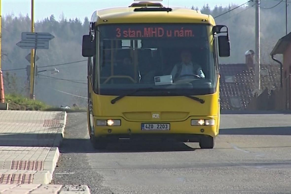Autobus MHD ve Valašském Meziříčí