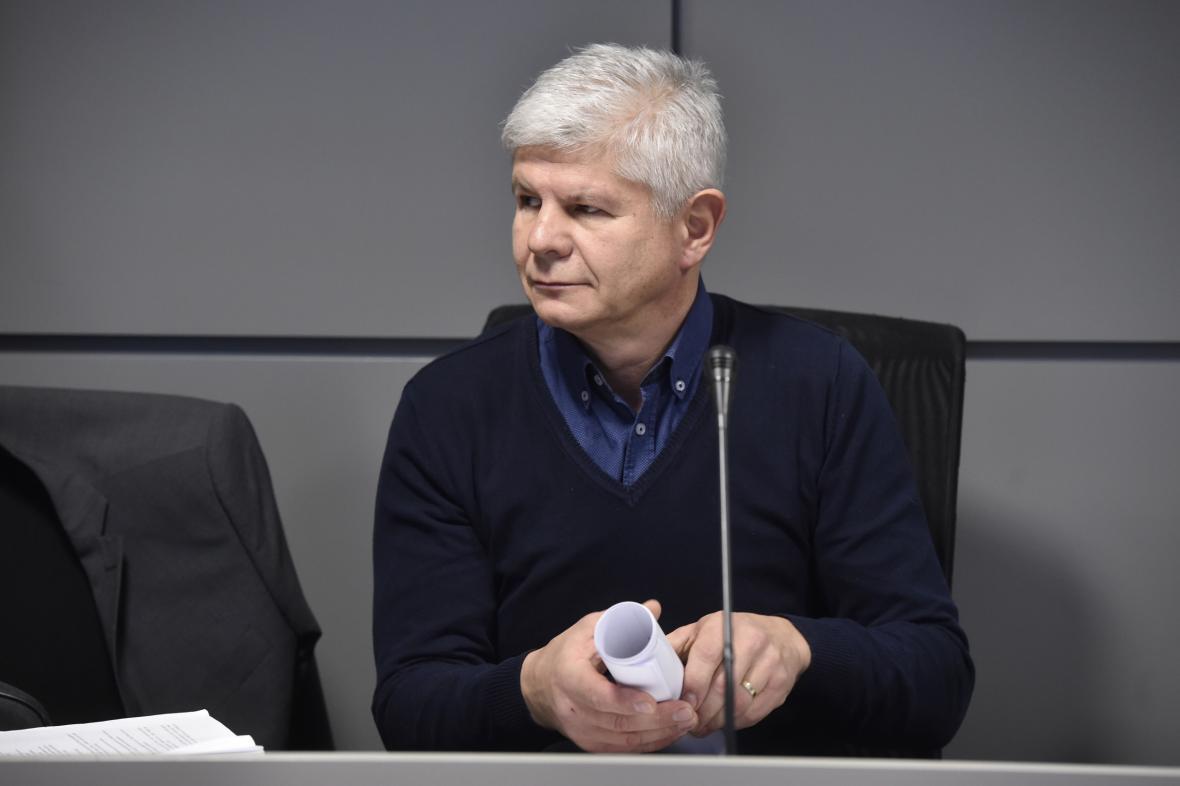 Ivan Kovářík na snímku z 10. ledna 2019
