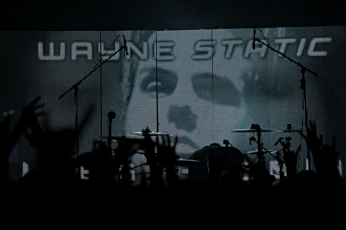 Koncert Static-X v pražském klube Meet factory