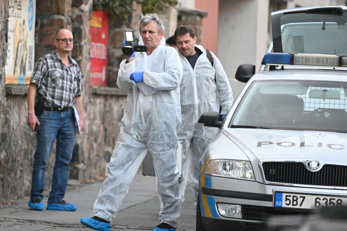 Policisté zasahovali u vraždy v Palackého ulici
