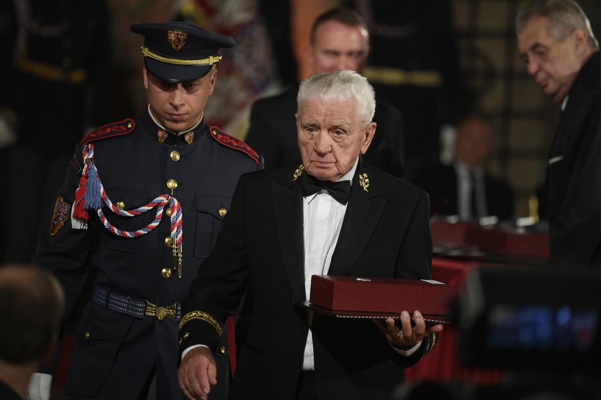 Válečný veterán Emil Boček