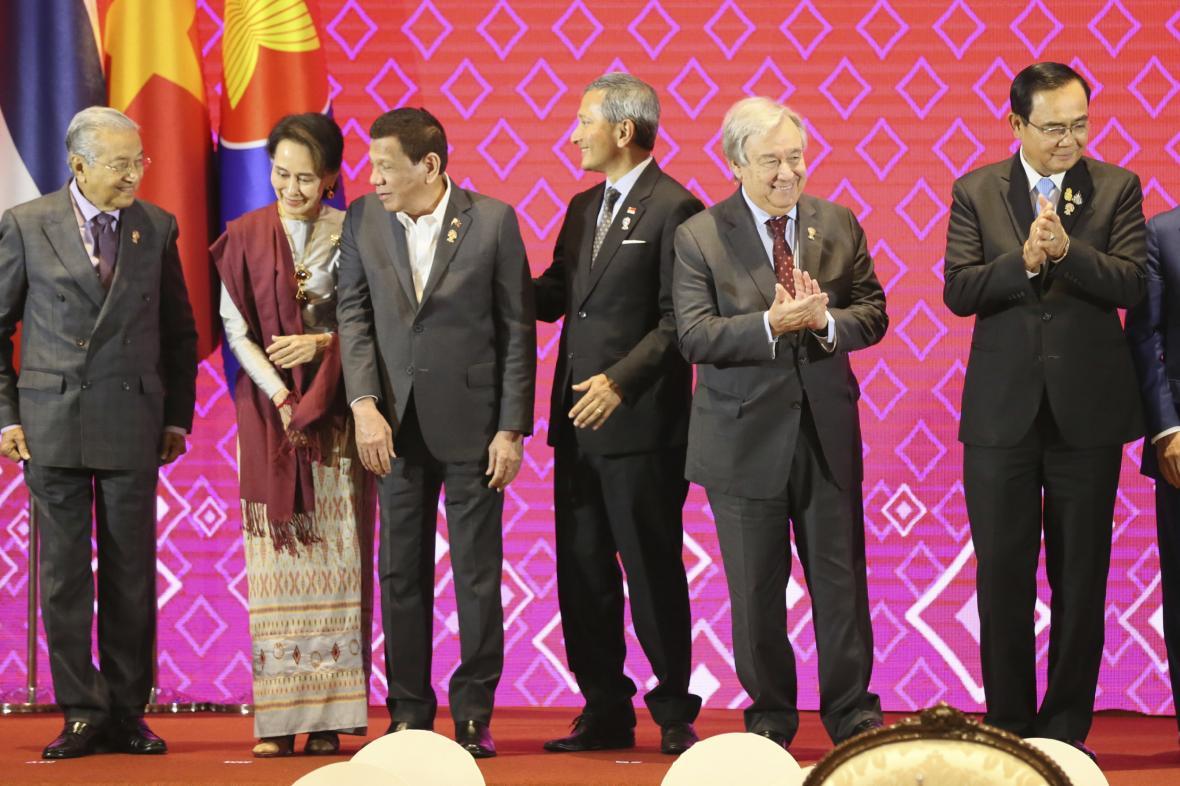 António Guterres na summitu ASEAN
